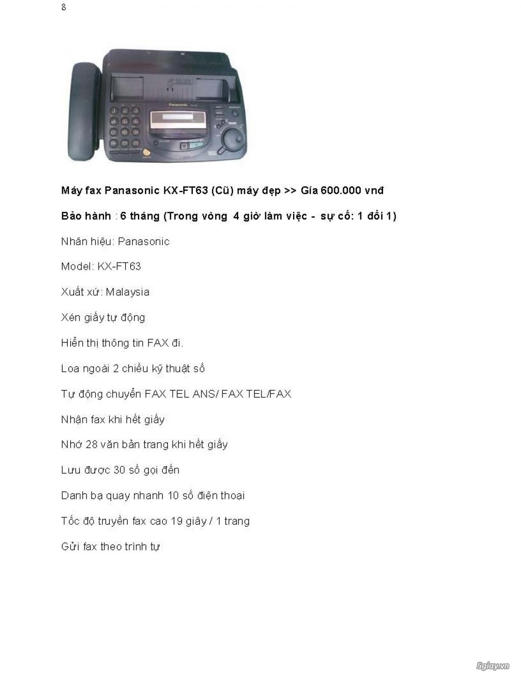 Sửa chữa Bộ Đàm,Máy Fax,Tổng Đài - 20