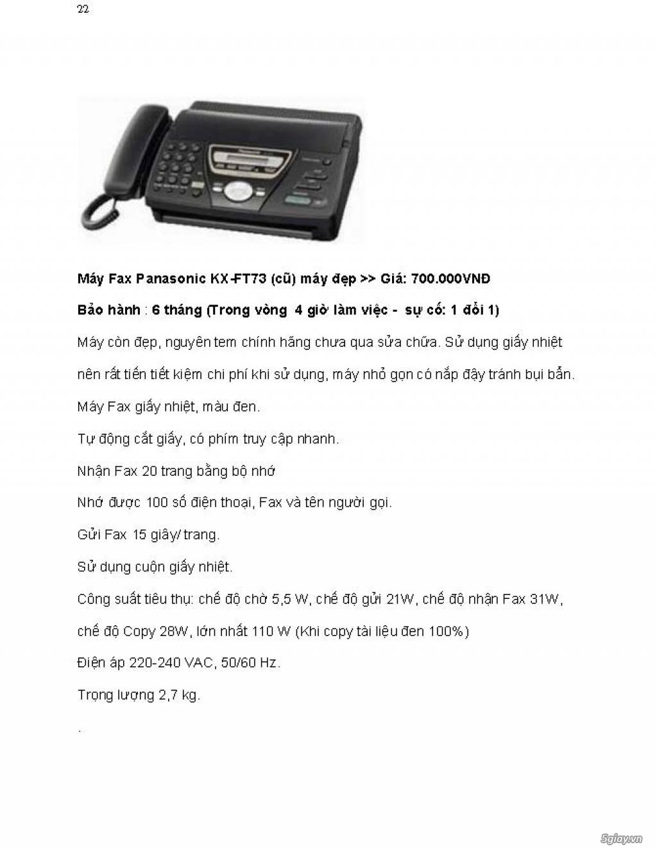Sửa chữa Bộ Đàm,Máy Fax,Tổng Đài - 33