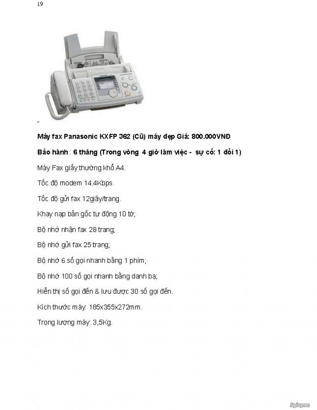 Sửa chữa Bộ Đàm,Máy Fax,Tổng Đài - 30