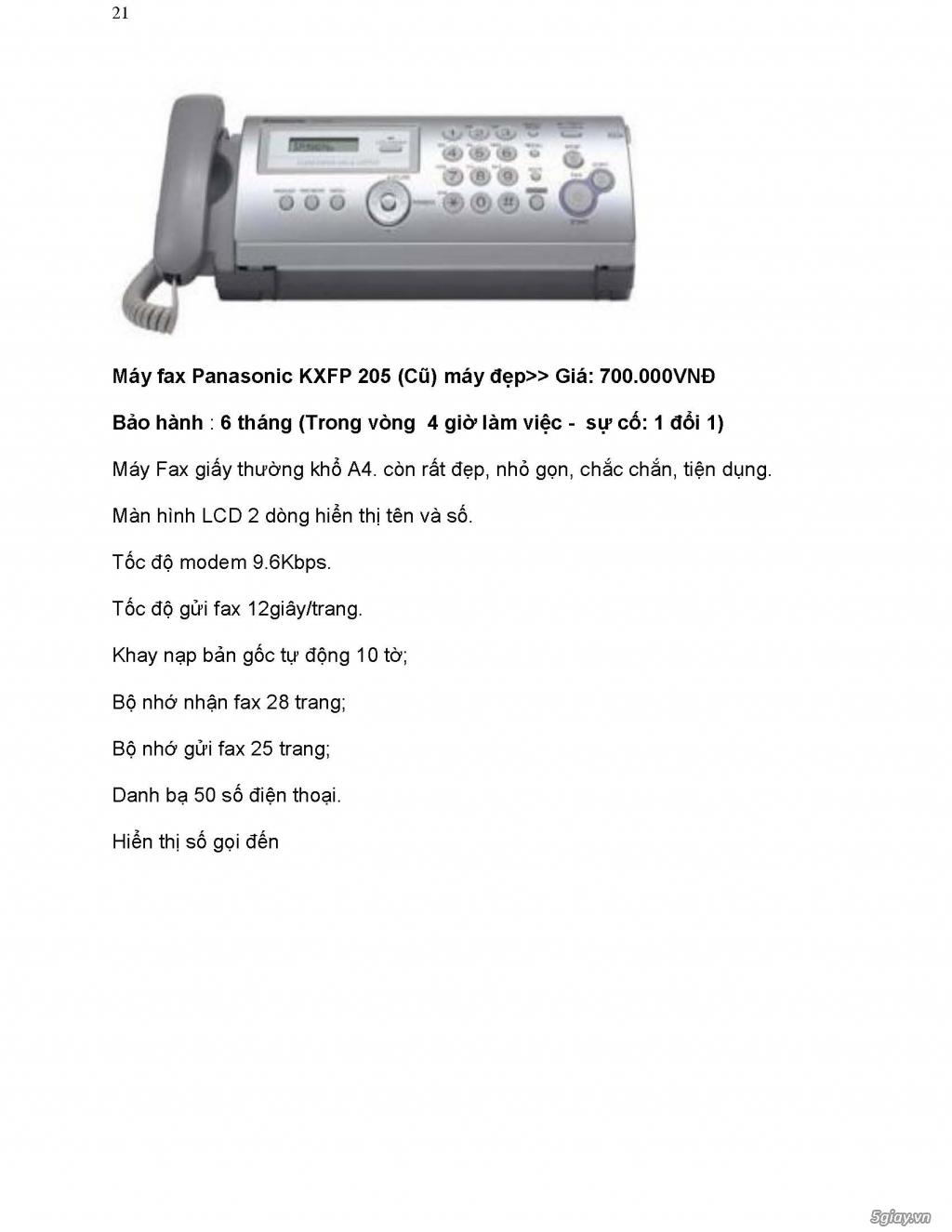 Sửa chữa Bộ Đàm,Máy Fax,Tổng Đài - 32