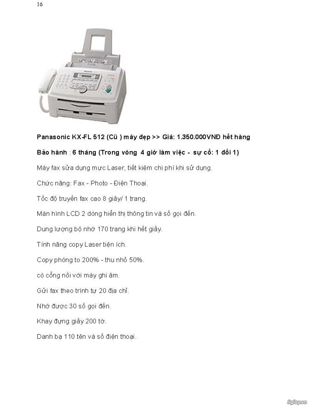 Sửa chữa Bộ Đàm,Máy Fax,Tổng Đài - 27