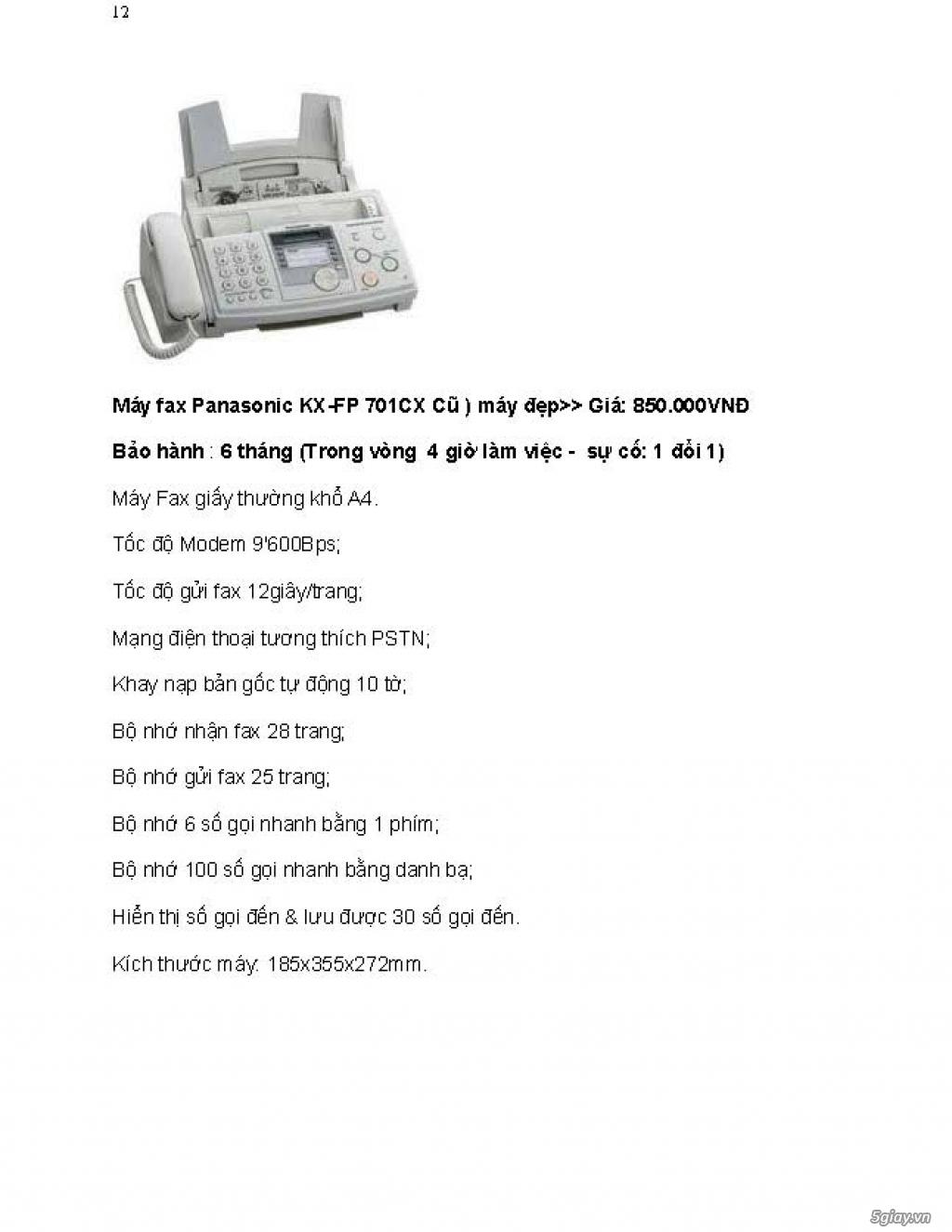 Sửa chữa Bộ Đàm,Máy Fax,Tổng Đài - 23