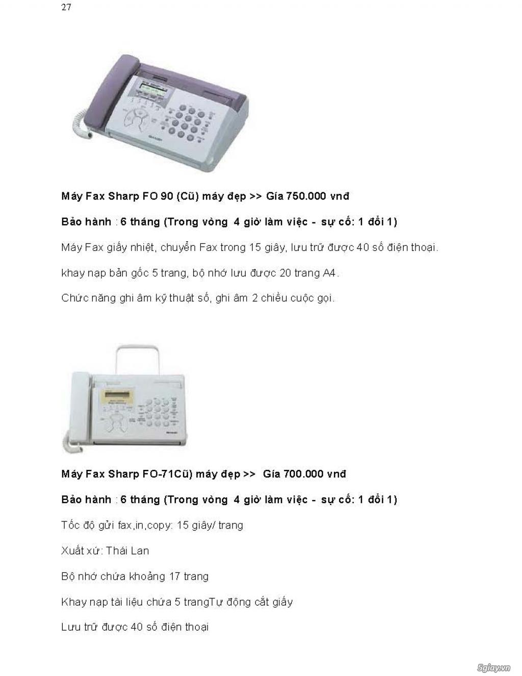 Sửa chữa Bộ Đàm,Máy Fax,Tổng Đài - 38