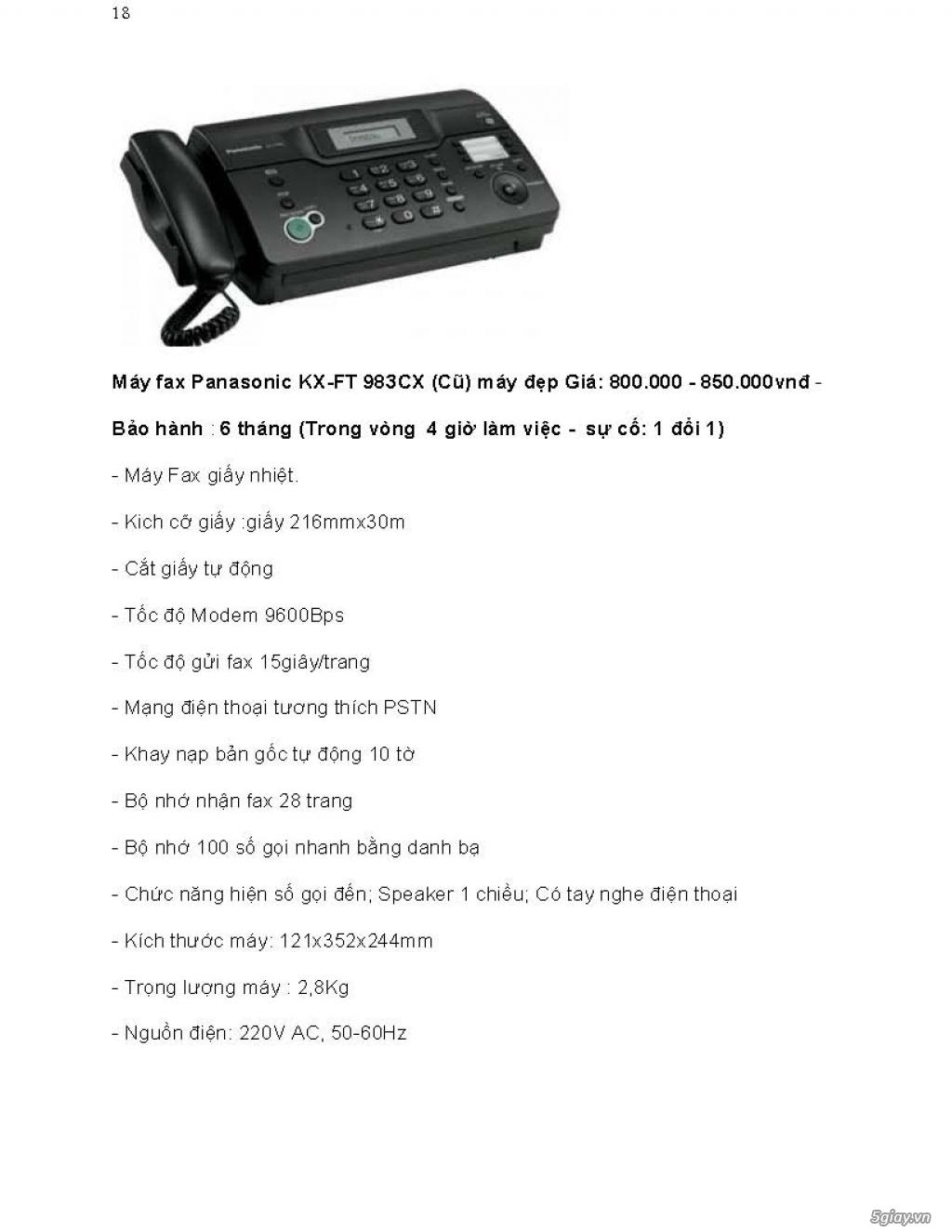 Sửa chữa Bộ Đàm,Máy Fax,Tổng Đài - 29