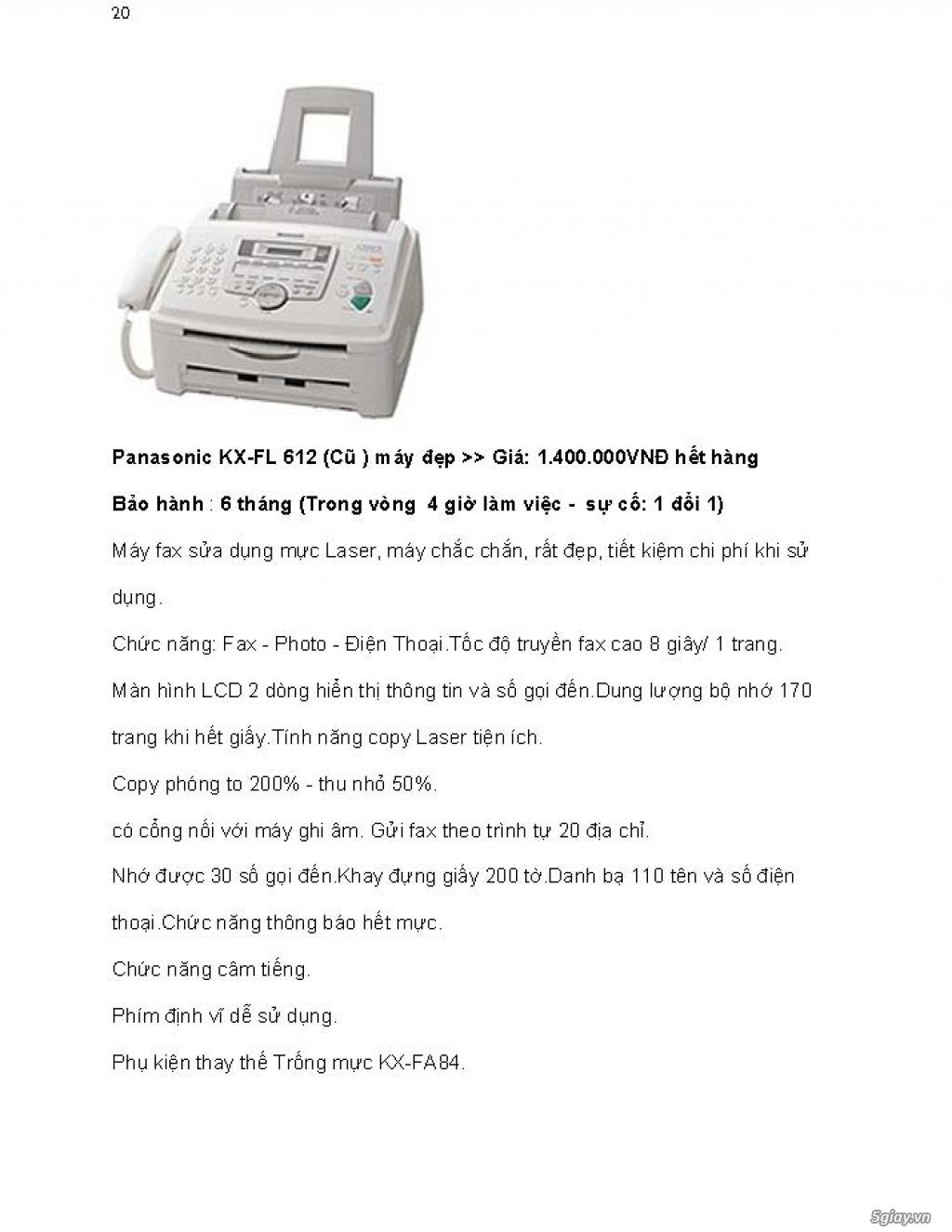 Sửa chữa Bộ Đàm,Máy Fax,Tổng Đài - 31