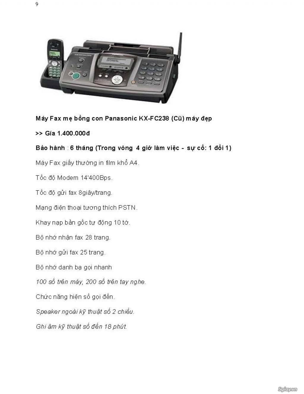 Sửa chữa Bộ Đàm,Máy Fax,Tổng Đài - 18