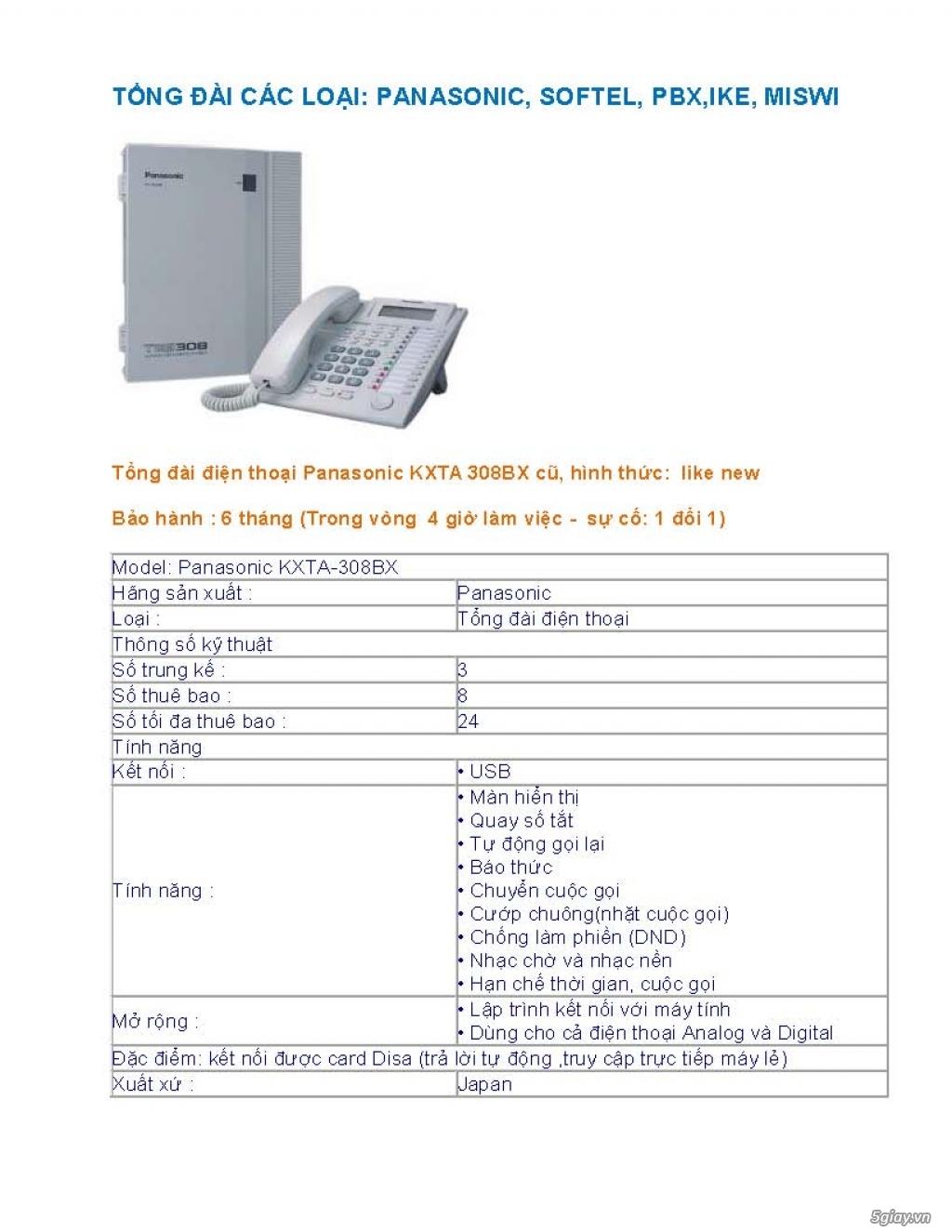 Sửa chữa Bộ Đàm,Máy Fax,Tổng Đài - 6