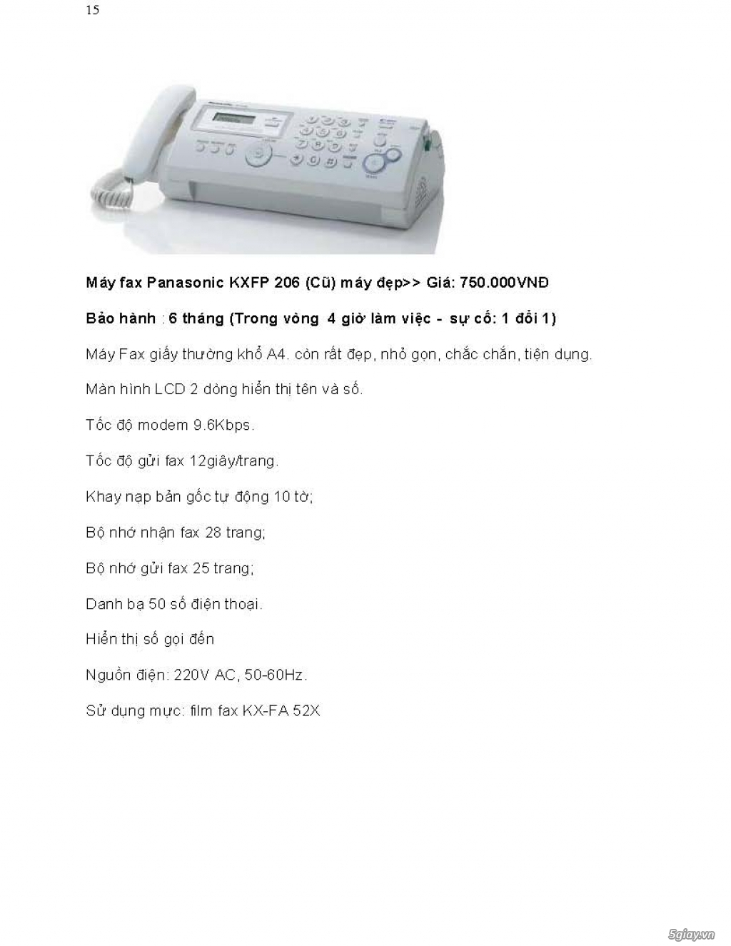 Sửa chữa Bộ Đàm,Máy Fax,Tổng Đài - 26