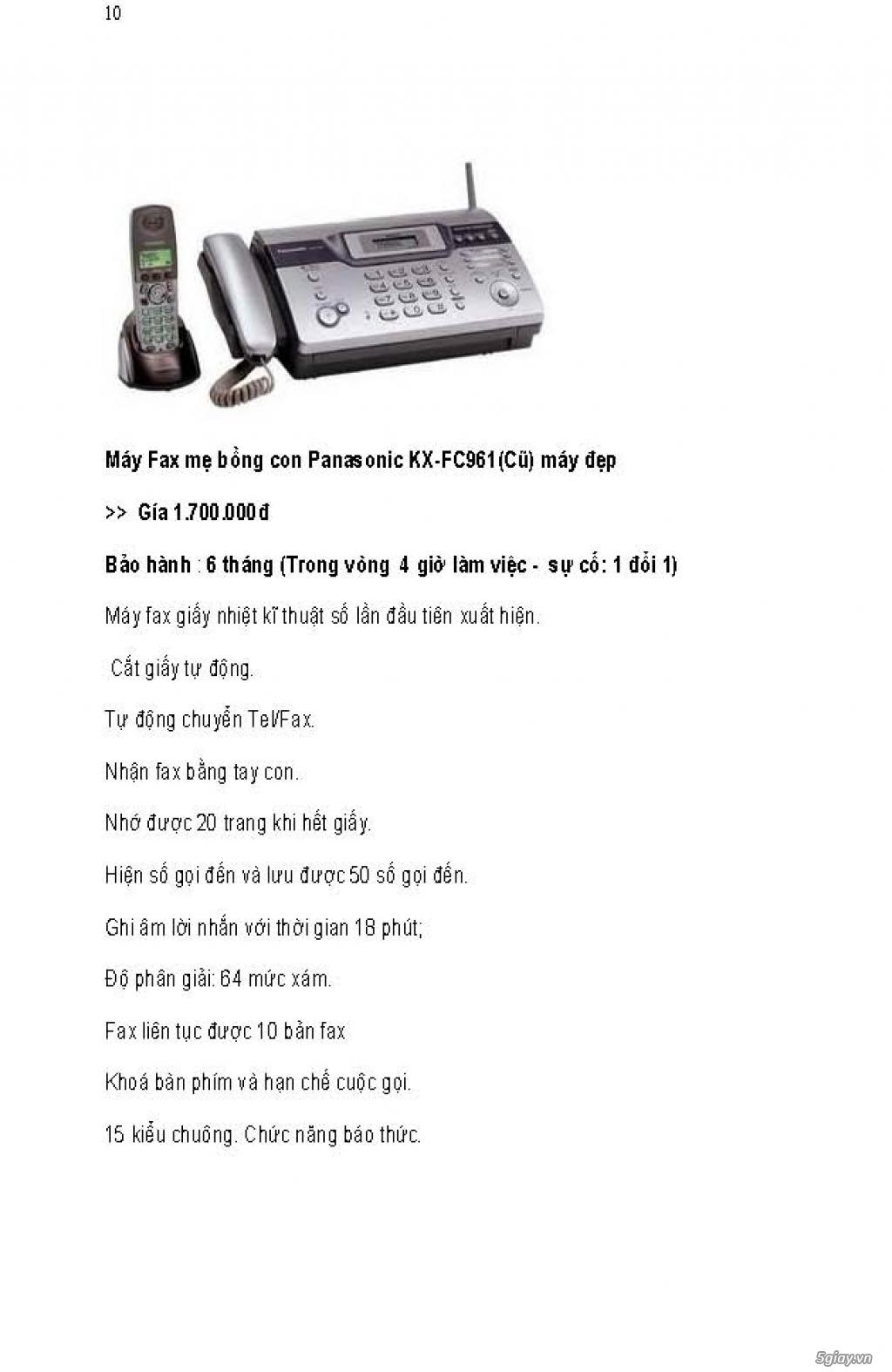Sửa chữa Bộ Đàm,Máy Fax,Tổng Đài - 21