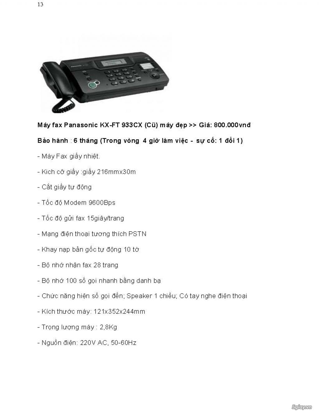 Sửa chữa Bộ Đàm,Máy Fax,Tổng Đài - 22