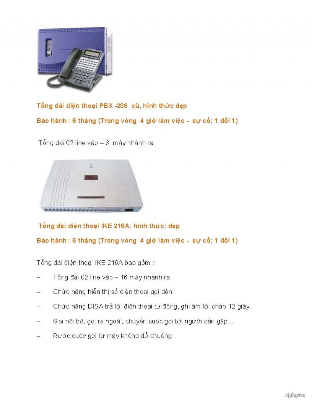 Sửa chữa Bộ Đàm,Máy Fax,Tổng Đài - 9