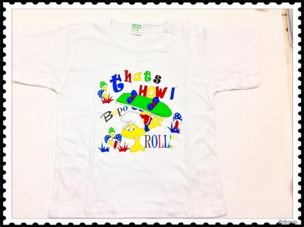 Áo quần cotton trẻ sơ sinh 12k, nón khăn bao tay chân, vớ giá rẻ new 100% hàng mới update - 2