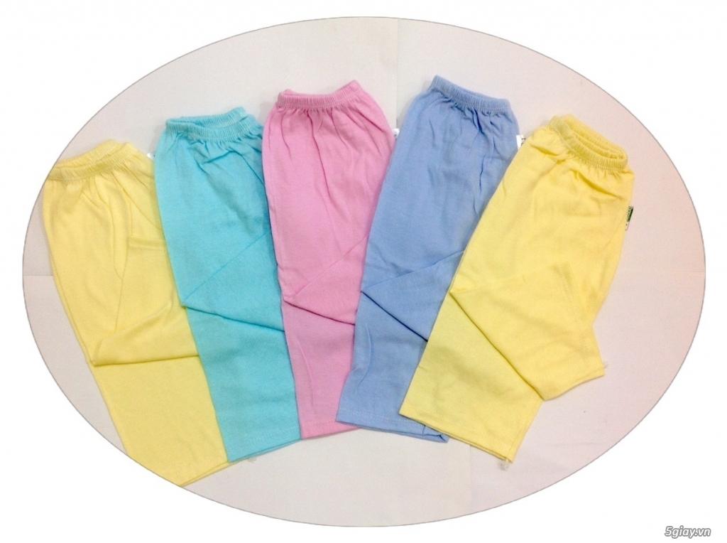 Áo quần cotton trẻ sơ sinh 12k, nón khăn bao tay chân, vớ giá rẻ new 100% hàng mới update - 10
