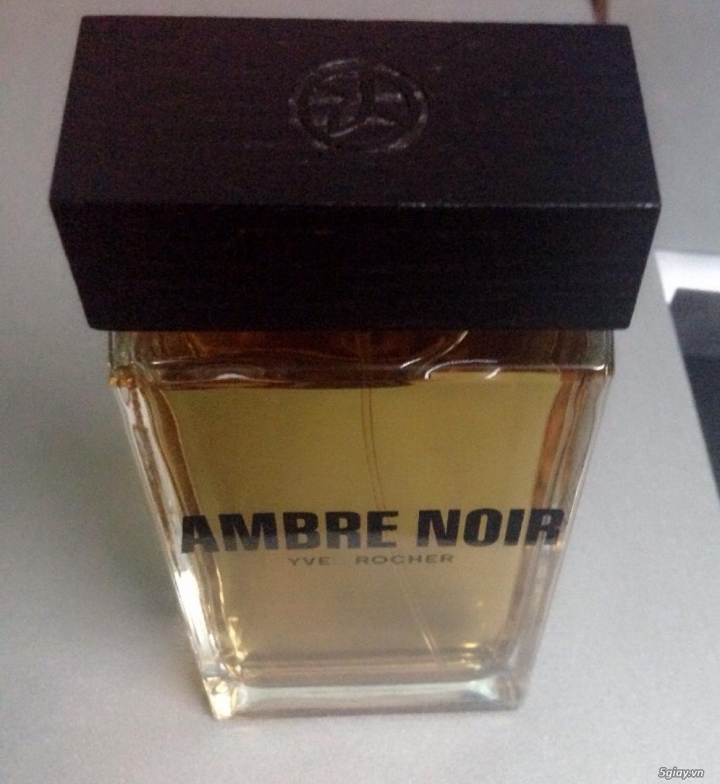 Nước hoa dành cho nam giới Ambre Noir Eau de Toilette Yves Rocher của Pháp - 2