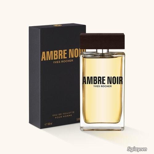 Nước hoa dành cho nam giới Ambre Noir Eau de Toilette Yves Rocher của Pháp - 5