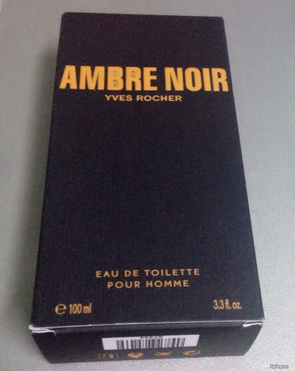 Nước hoa dành cho nam giới Ambre Noir Eau de Toilette Yves Rocher của Pháp - 3
