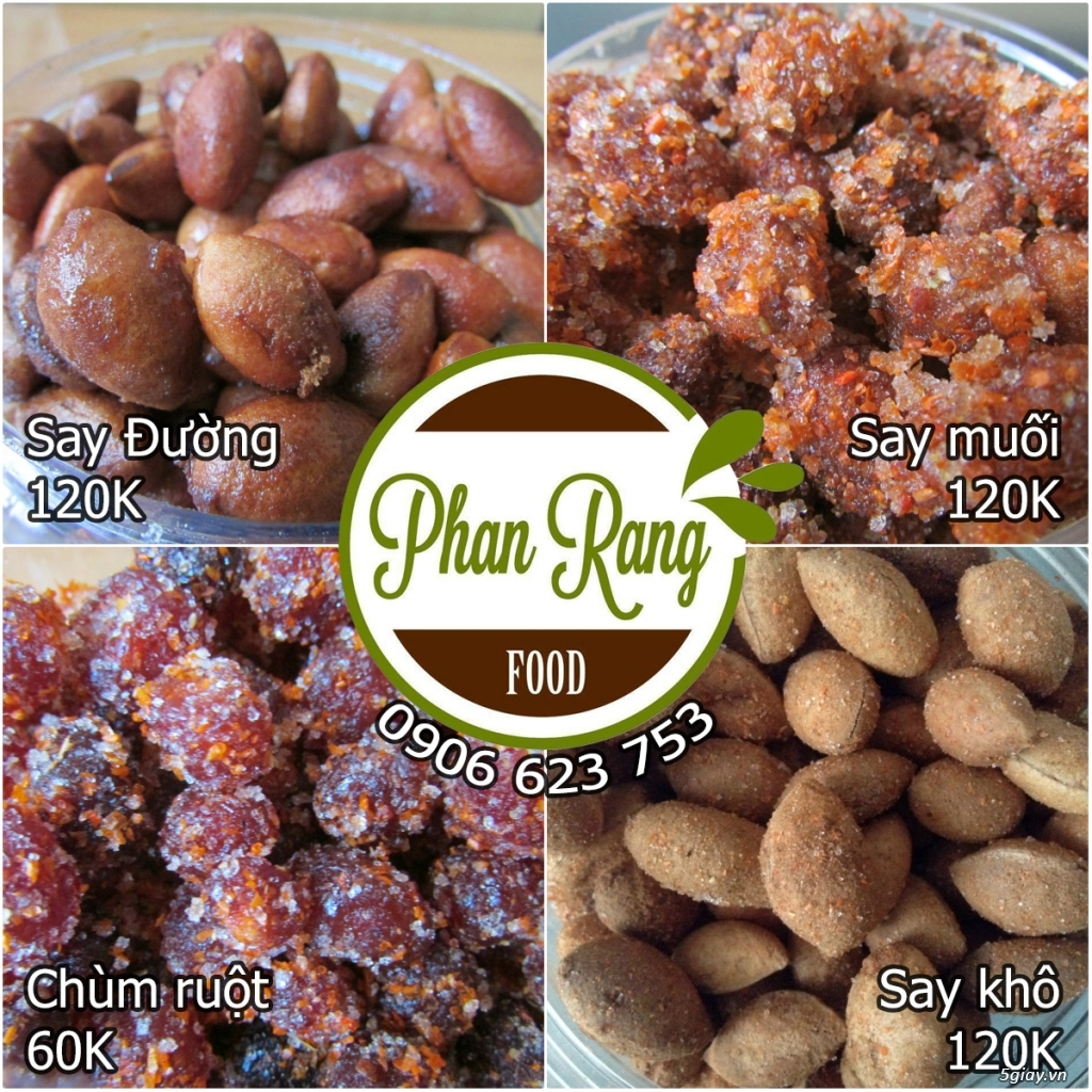 Say Rim Ngào Đường - Đặc sản của Phan Rang Food