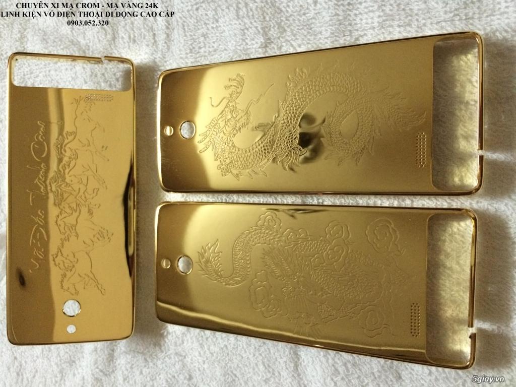 Nhận mạ crom-mạ vàng 24k vỏ điện thoại - 23