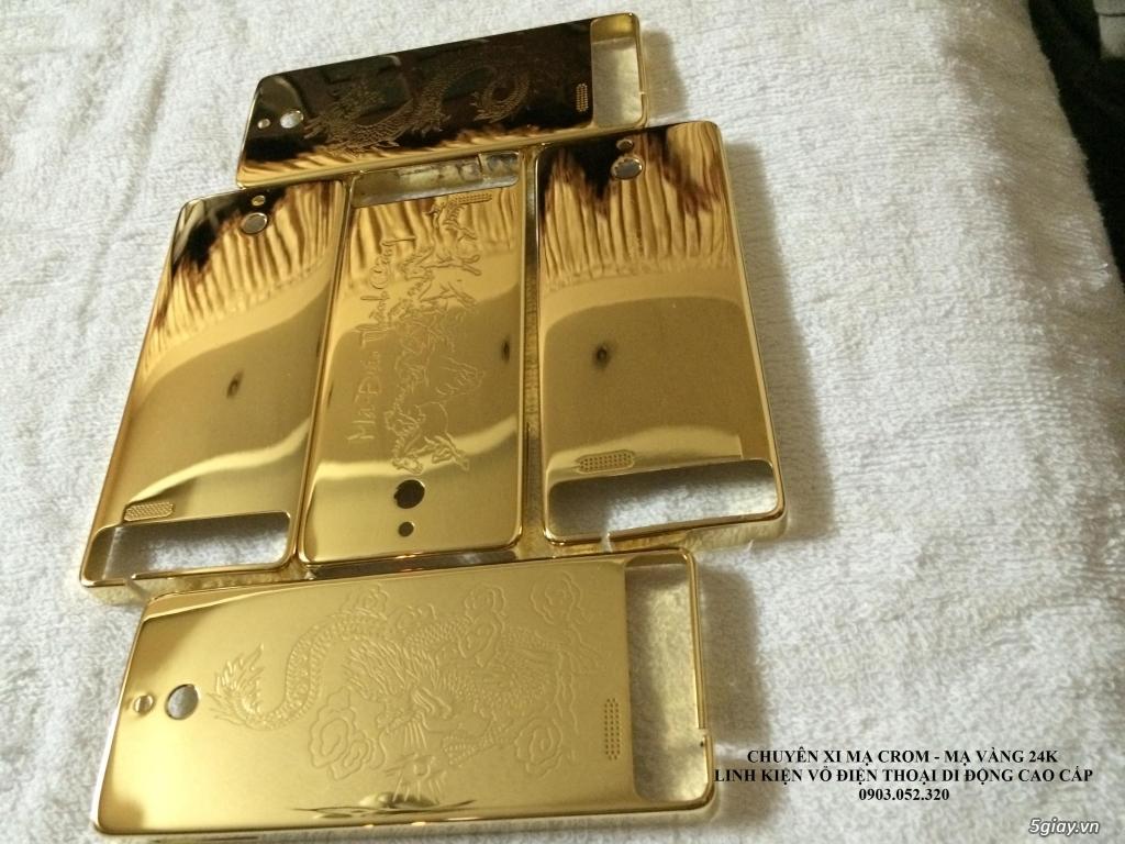 Nhận mạ crom-mạ vàng 24k vỏ điện thoại - 22