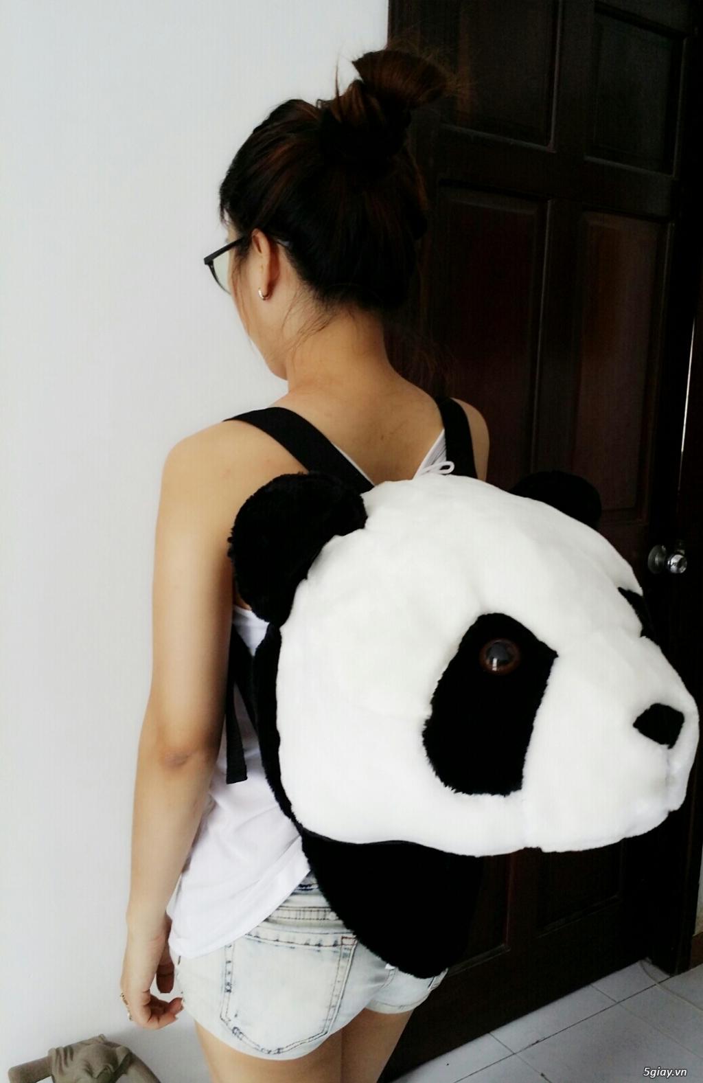 Balo Lựu Đạn - Panda , Balo Tay Gấu, Tắc Kè , Tê Tê , Nhím v.v... - 22