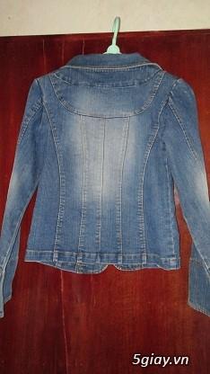 Áo khoác Jean Nữ thanh lý, đồng giá 90k/cái (Có hình) - 21