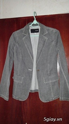 Áo khoác Jean Nữ thanh lý, đồng giá 90k/cái (Có hình) - 12