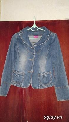 Áo khoác Jean Nữ thanh lý, đồng giá 90k/cái (Có hình) - 20
