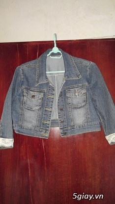 Áo khoác Jean Nữ thanh lý, đồng giá 90k/cái (Có hình) - 18