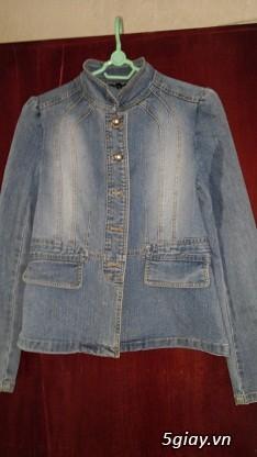 Áo khoác Jean Nữ thanh lý, đồng giá 90k/cái (Có hình) - 6