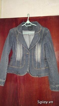 Áo khoác Jean Nữ thanh lý, đồng giá 90k/cái (Có hình)