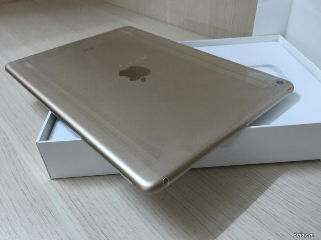 Bán IPAD AIR 2 16G GOLD WIFI mang Mỹ về Full Box Like New 99,99%.. - 10