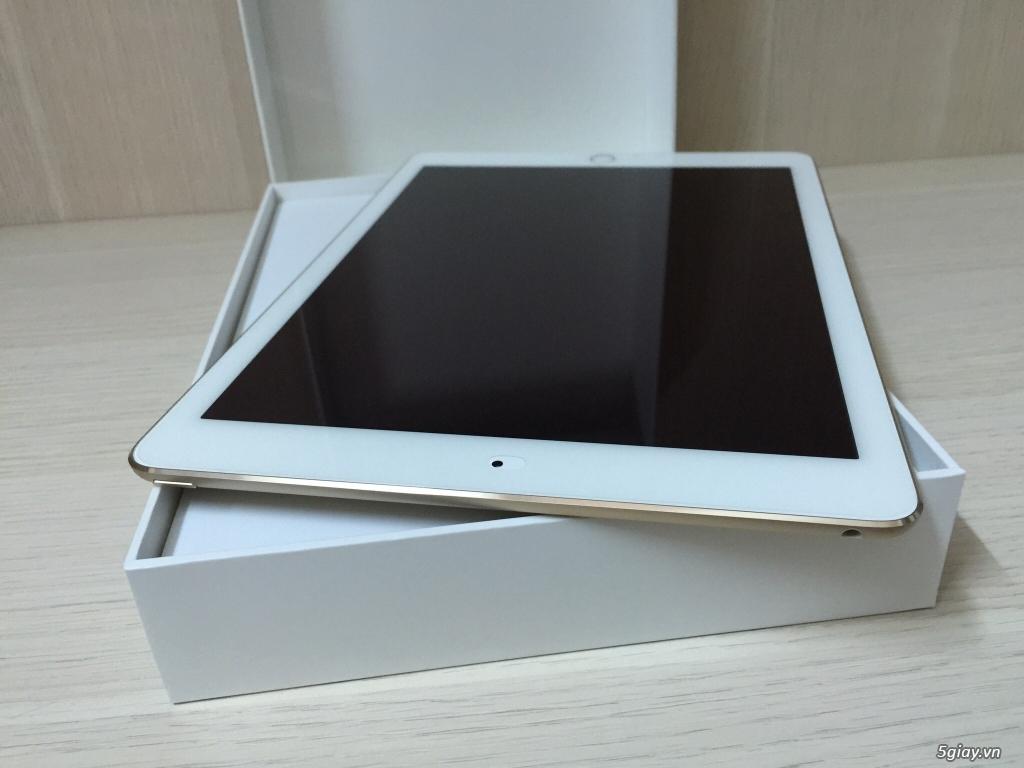 Bán IPAD AIR 2 16G GOLD WIFI mang Mỹ về Full Box Like New 99,99%.. - 7