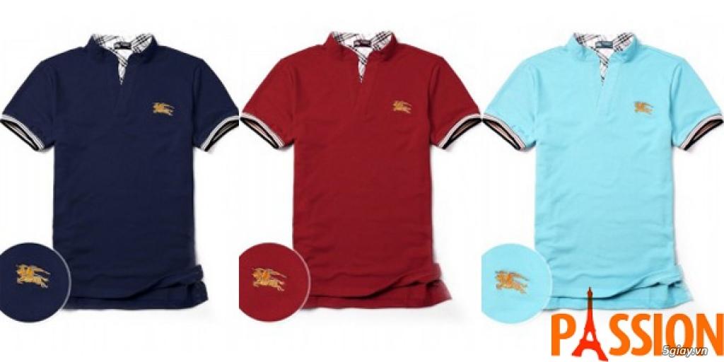 Xưởng áo thun xuất khẩu: Polo, Adidas, tonny, Burberry, Hollister, Hermes, Dori. Chuyên sỉ lẻ. - 17