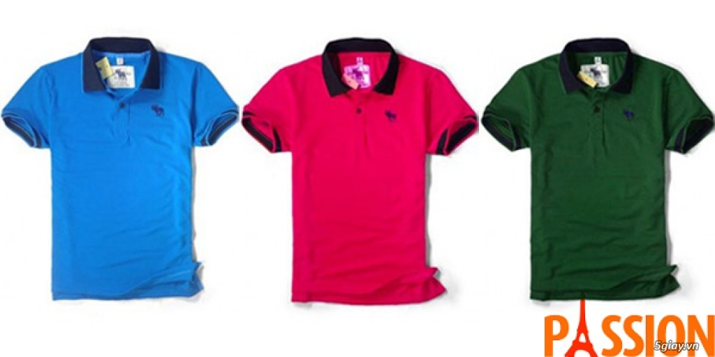 Xưởng áo thun xuất khẩu: Polo, Adidas, tonny, Burberry, Hollister, Hermes, Dori. Chuyên sỉ lẻ. - 20