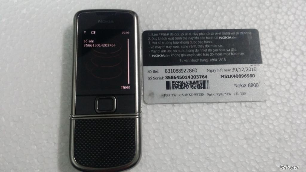 Chuyên mua bán Nokia 8800 các loại giá tốt nhất thị trường