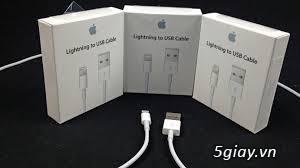 Chuyên bán sạc cáp, tai nghe zin hãng Apple của các loại ipad , iphone - 5
