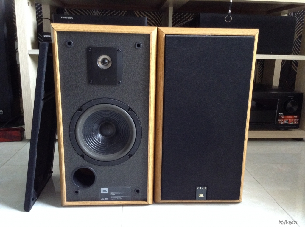 Ampli, CD, receiver, loa, subwoofer, center, surround các loại...