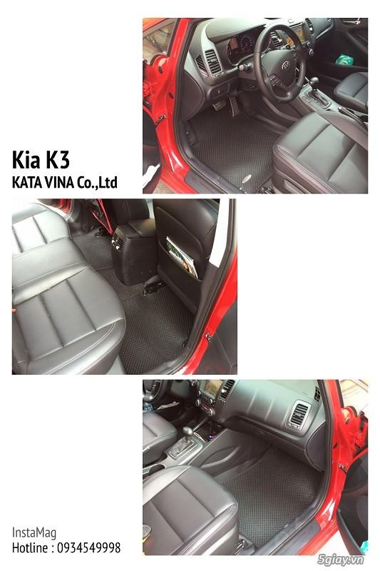 KATA : Nhập khẩu và Phân phối thảm lót sàn ô tô Thái Lan| Thiết kế theo từng Model - 6