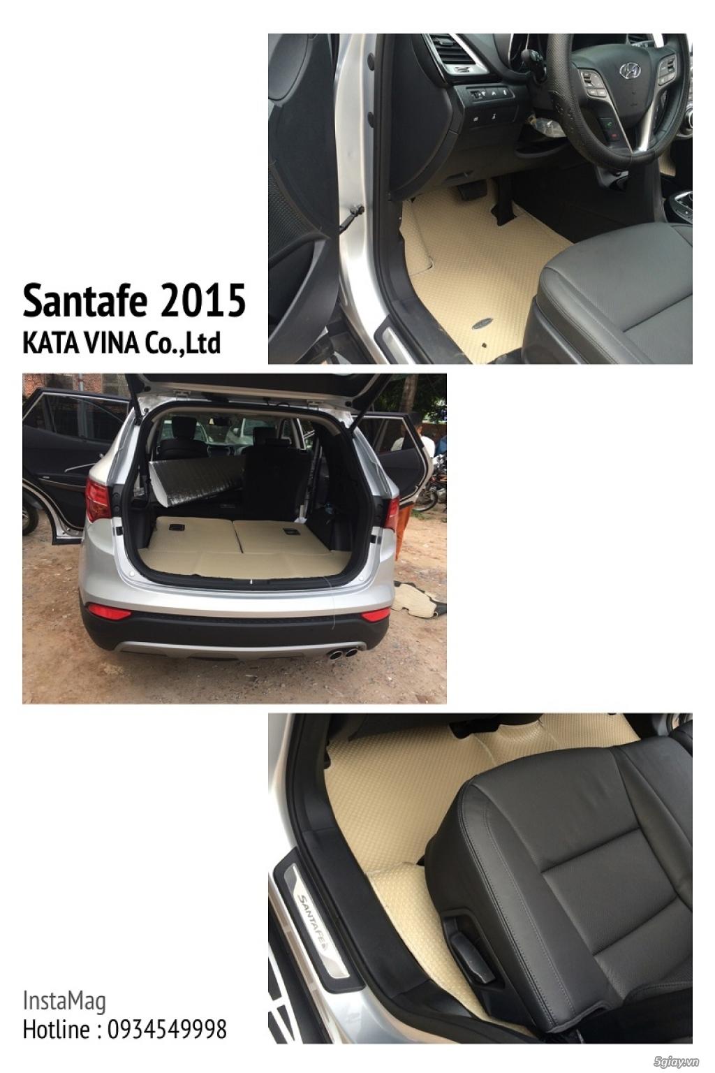 KATA : Nhập khẩu và Phân phối thảm lót sàn ô tô Thái Lan| Thiết kế theo từng Model - 7