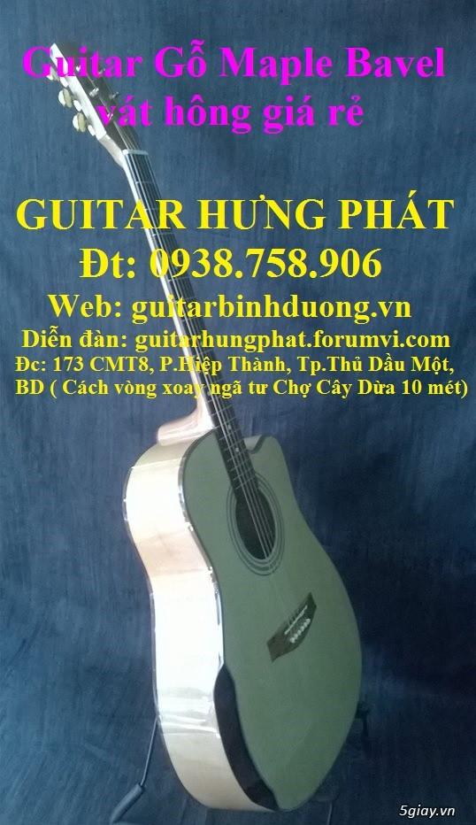 Guitar giá rẻ guitar sinh viên Bình Dương - 16