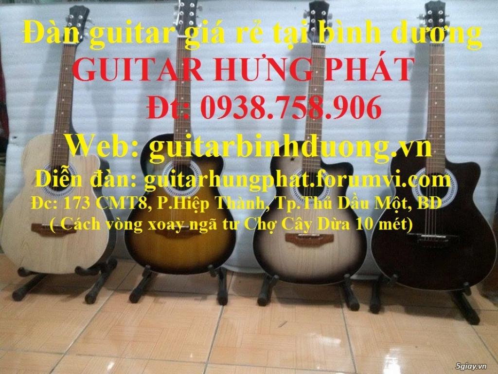 Guitar giá rẻ guitar sinh viên Bình Dương - 8