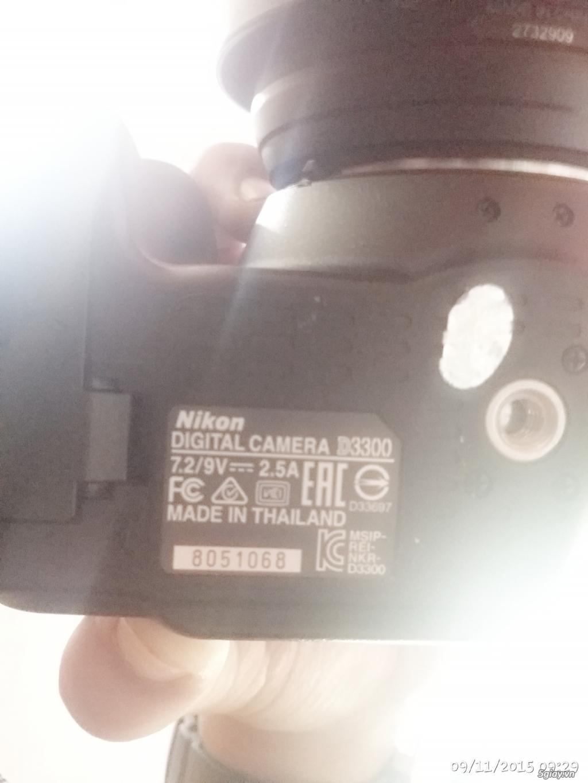 Nikon d3300 fullbox còn bảo hành 9 tháng - 3