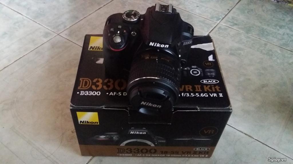 Nikon d3300 fullbox còn bảo hành 9 tháng