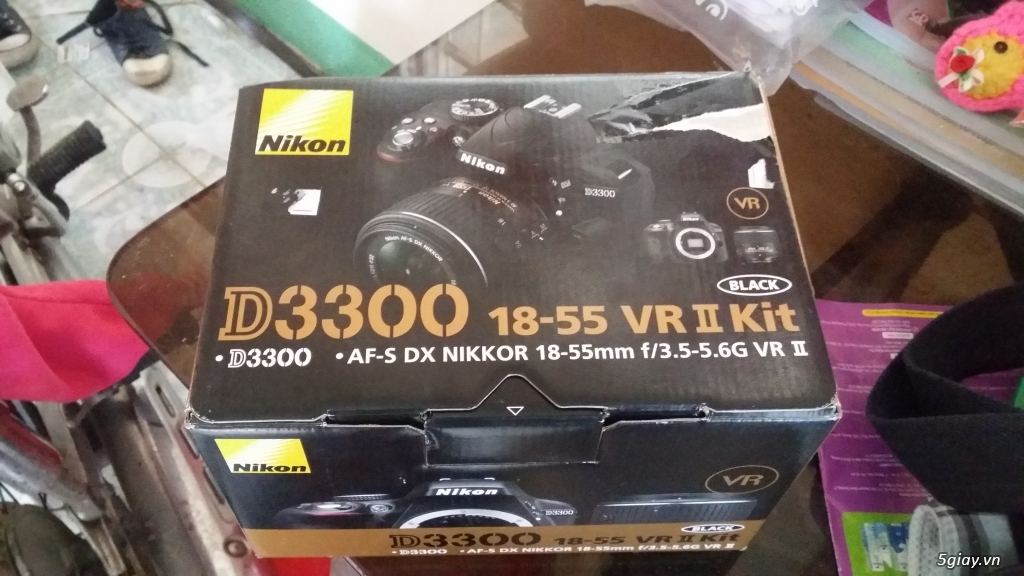 Nikon d3300 fullbox còn bảo hành 9 tháng - 1