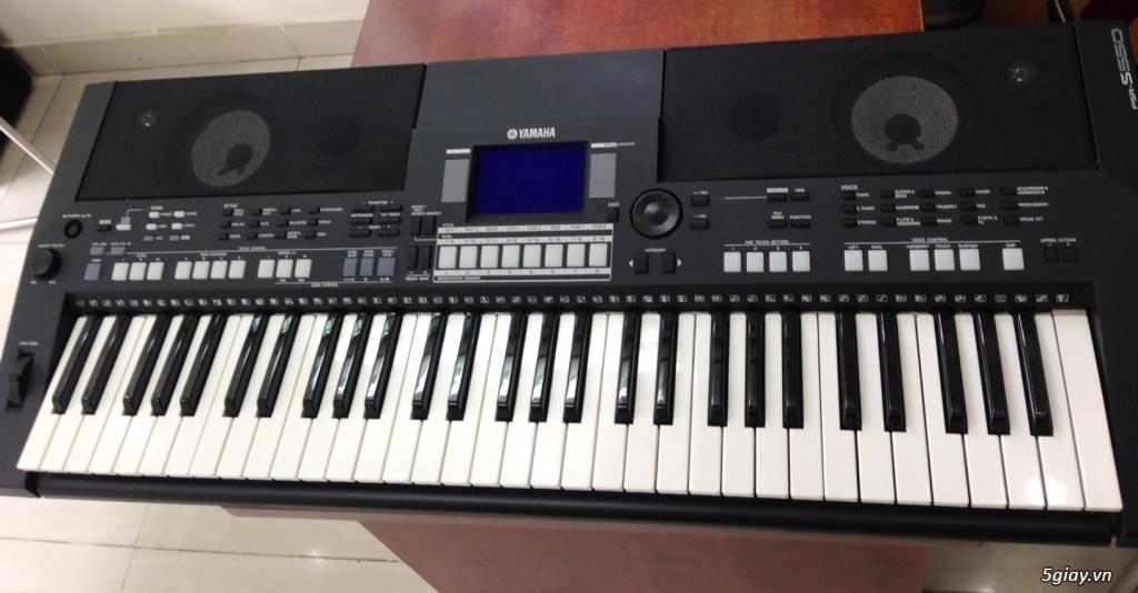 Bán đàn Organ Yamaha PSR S550B