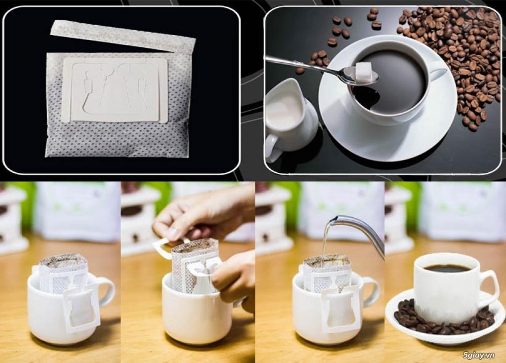 Cà Phê Túi Lọc Di Động - Drip coffee Filter -Drip Coffee - 3