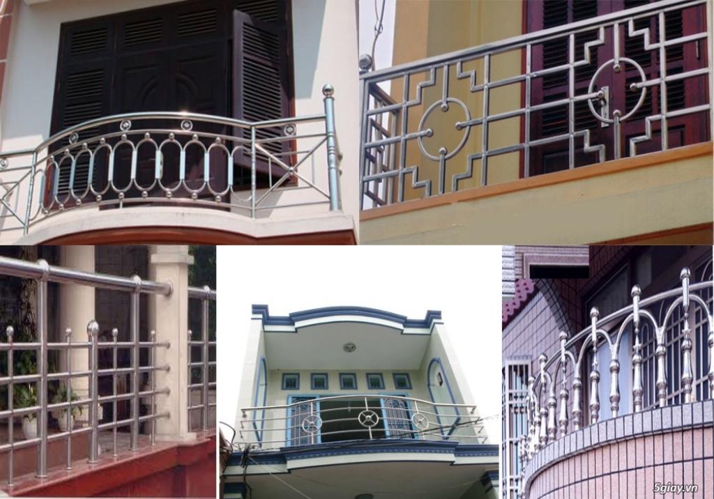 Chuyên sắt, inox, nhôm kiếng, thiết kế, thi công cầu thang, lan can... - 22