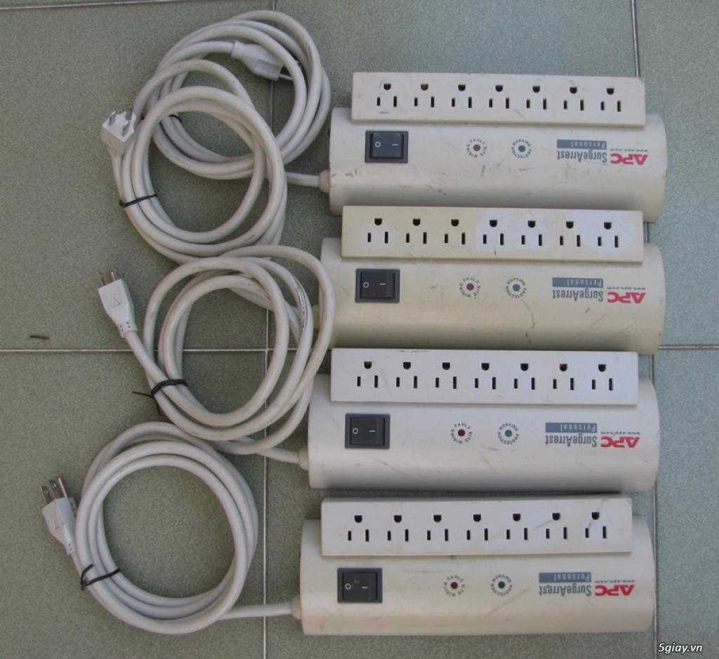 Ổ cắm lọc điện nộ địa Mỹ - Quạt nội địa Nhật