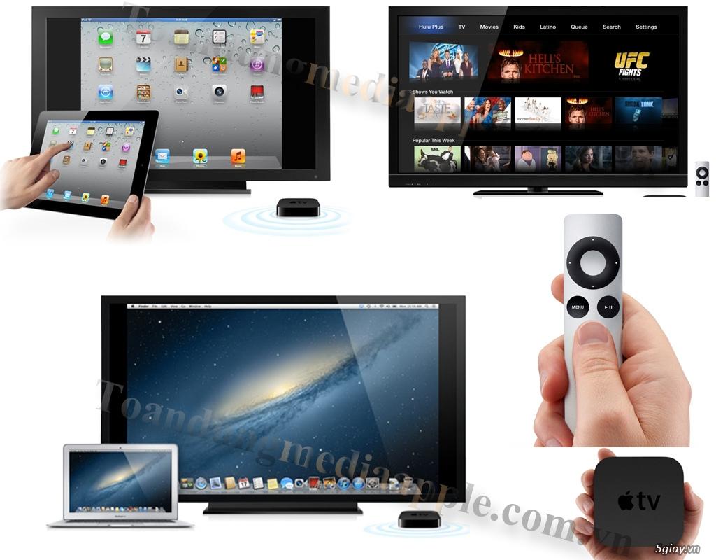 Apple TV Gen 3 hàng USA Nguyên Seal hộp New 100% giá tốt - 2