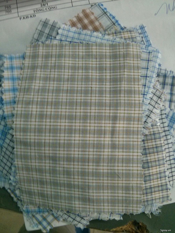Bán sỉ vải kate silk, kaki, quần tây, Caro giá tốt may đồng phục